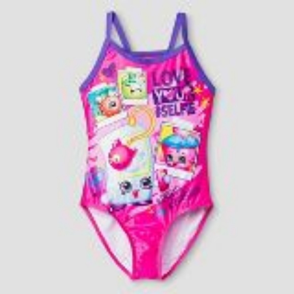 shopping wide selection on sale Shopkin bathing suit ! Girls size XS